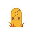 grave icon flat design vector image