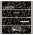 Set of modern banners Material Design Colored vector image