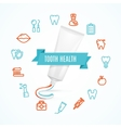 Tooth Health Concept vector image