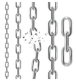 Chain Collection vector image