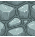 Seamless gray stone texture vector image