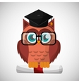 an Owl graphic design vector image