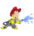 fireman vector image