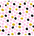Hand Drawn Dot Seamless Pattern vector image