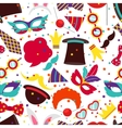 Party background or carnival pattern vector image