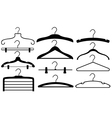 hangers vector image vector image