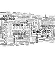 whatever happened to james bond text word cloud vector image