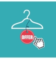 commercial clearance design vector image