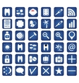 Set of 36 Quality icon for you design vector image