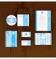 Company style branding vector image