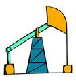oil pump icon icon cartoon vector image