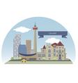 Calgary vector image vector image