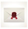 Retro envelope icon vector image