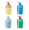 pump bottle vector image