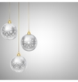 hanging bauble vector image