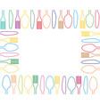 cutlery graphic design vector image