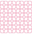 seamless pattern with pink elements vector image vector image