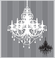 Chandelier vector image