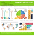 Banking Infographics Set vector image