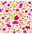 seamless romantic pattern vector image