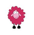 sheep cartoon part two vector image
