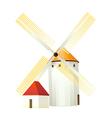 icon windmill vector image vector image