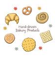 bakery produkt vector image
