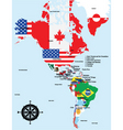 map of america vector image