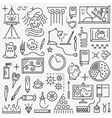 Art - set icons vector