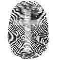 Thumb Print vector image