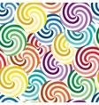 vivid swirl pattern vector image vector image