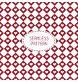 Red romantic wedding geometric seamless pattern vector image