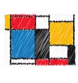 Decorative web icon vector image
