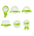 Best choice labels set vector image vector image