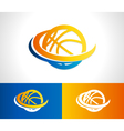 Basketball Logo Icon vector image vector image