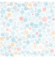 circle watercolor pastel seamless pattern vector image