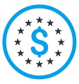 Dollar Stars Icon vector image