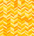 Zig Zag Background in Shades of Yellow and Orange vector image vector image