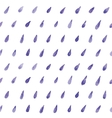 Hand paint watercolor drops pattern vector image