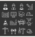 Architecture Construction Building icon set vector image vector image