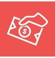 Money Sharing vector image