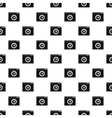 Video player pattern simple style vector image