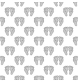 Babys feet seamless pattern vector image