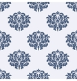 Floral seamless damask pattern vector image