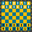chess table vector image vector image