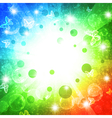 holiday bright multicolored background vector image vector image