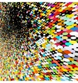 Abstract mosaic background EPS 8 vector image