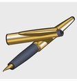 Fountain pen stylish image for your business vector image