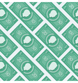 Money flat pattern vector image