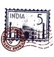 india icon vector image vector image